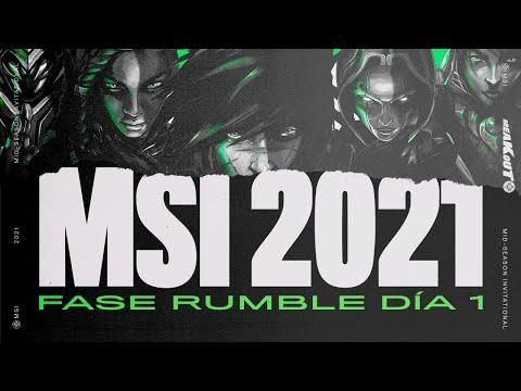 LoL Esports Latinoamérica - #MSI2021 - Fase Rumble Día 1 - L