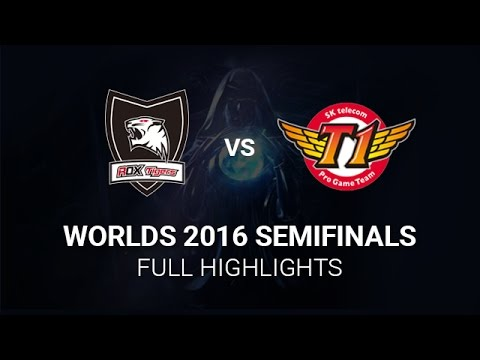 SKT vs ROX Highlights Semifinals All Games, S6 Worlds 2016 Semi final, SK Telecom T1 vs ROX Tigers H