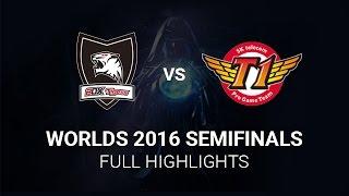 SKT vs ROX Highlights Semifinals All Games, S6 Worlds 2016 Semi final, SK Telecom T1 vs ROX Tigers H