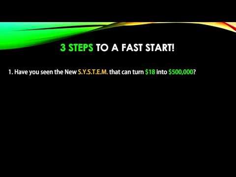 四角国际联盟 - 不看后悔!US$18一次性的投资,只需3步骤就有机会让您赚US$500,000的方法