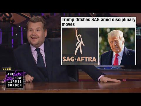 Trump Quit the Actors Union: Who Cares!