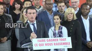 France  Valls steps down as PM to chase Socialist presidential candidacy
