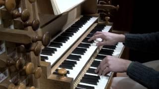 Benjamin ALARD, Orgue?J.S.BACH -Choral Schübler: Kommst du nun, Jesu, vom Himmel herunter - BWV 650