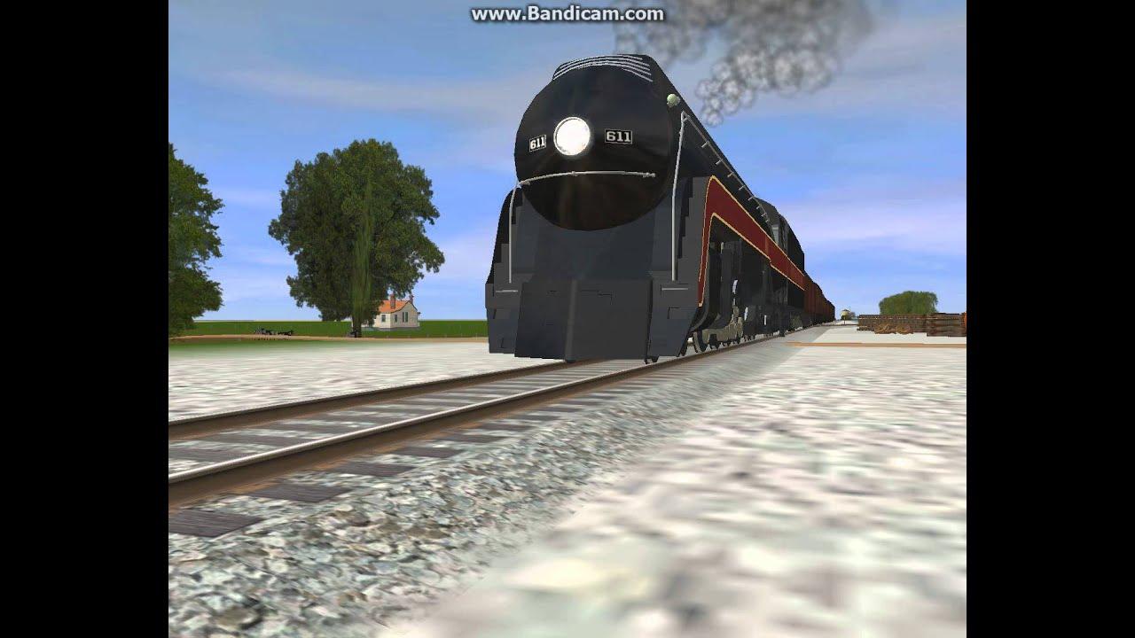 NW 611 Strasburg Railroad Trainz 2009