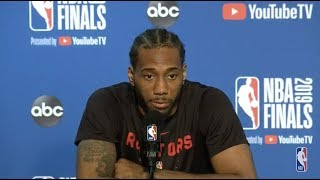 Toronto Raptors Media Availability | NBA Finals Game 4
