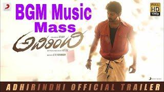Adirindi Movie   Full Mass   BGM Music   Vijay