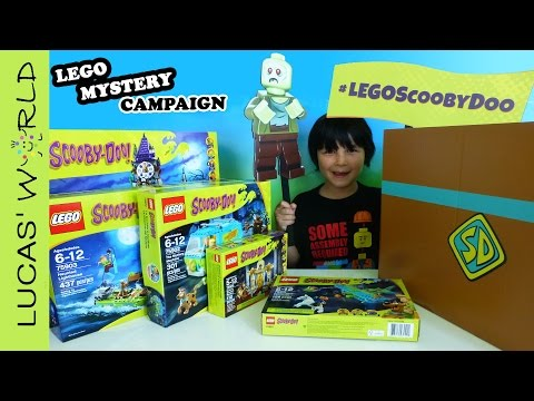 LEGO Scooby Doo Mystery Campaign and All 5 LEGO Scooby Doo Sets Review #LEGOScoobyDoo