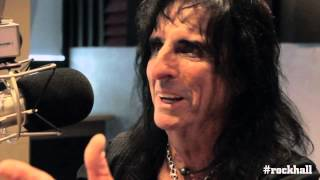 The Rock and Roll Hall of Fame Interviews Alice Cooper