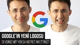 Google'ın yeni logosu
