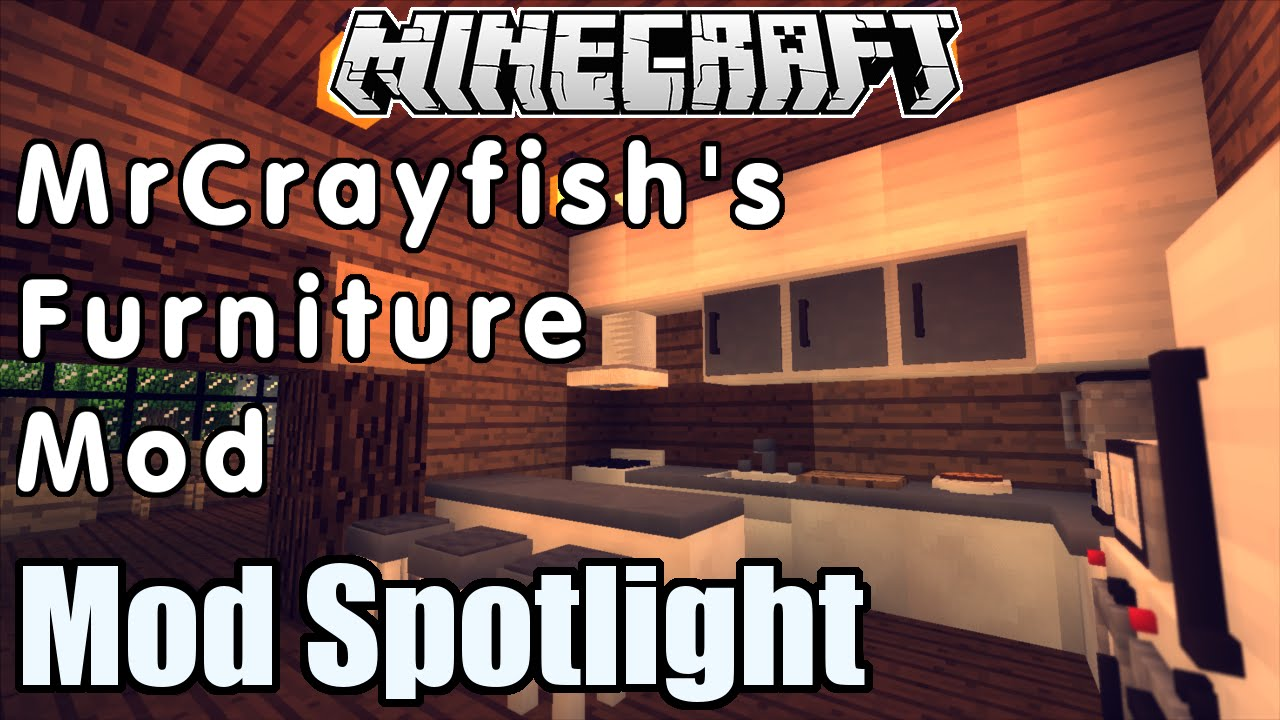 Minecraft Kitchen Mod 1.8 Mrcrayfish S Furniture Mod Spotlight Awesome Kitchens And More Minecraft 1 7 10 1 8
