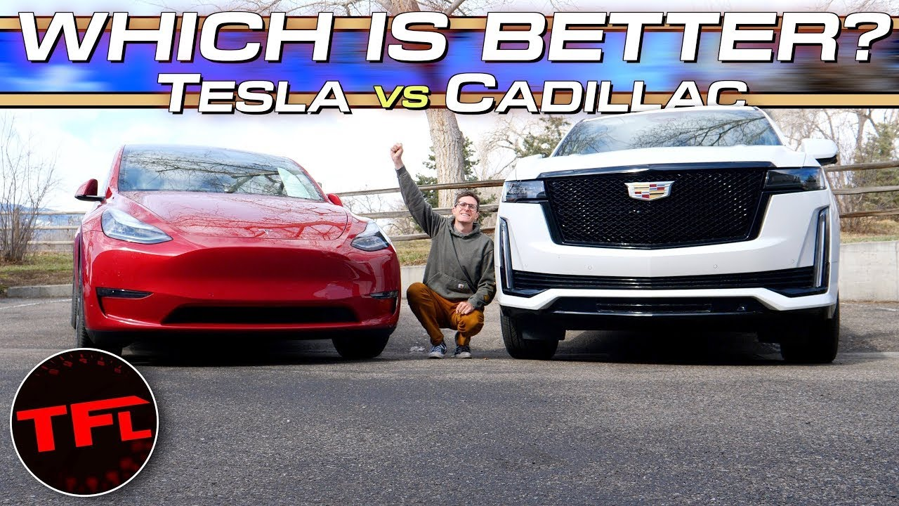 Cadillac Super Cruise vs. Tesla AutoPilot: One Of These Systems Is CLEARLY Better, But Which One?