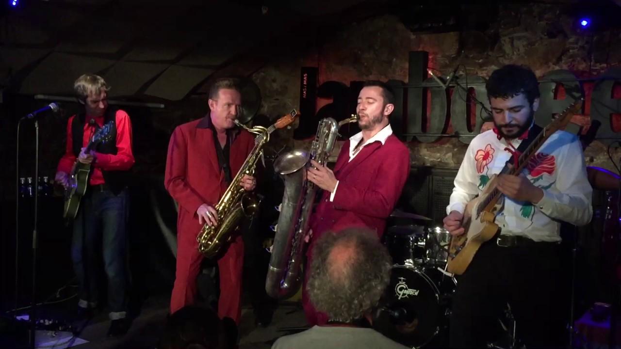 Dani Nel.lo & Los Saxofonistas Salvajes en vivo en el Jamboree (2017)