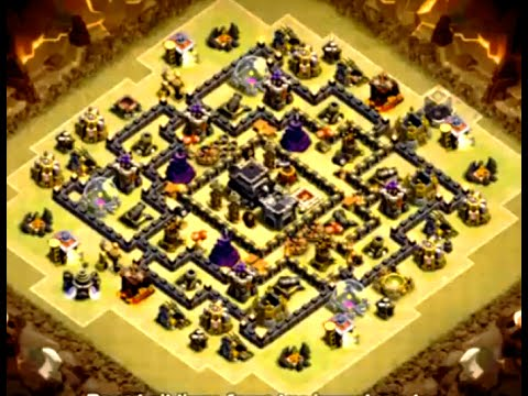 TH8 Clash of Clans Tools WAR Layouts 2016