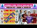 JADWAL LIGA ITALIA PEKAN 32 MALAM INI LIVE RCTI ~ JUVENTUS VS PARMA