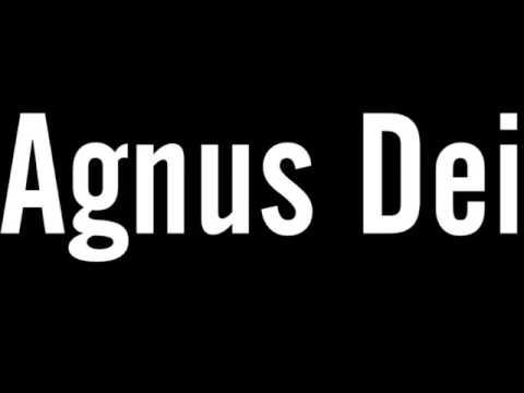 Fundo Musical Agnus Dei