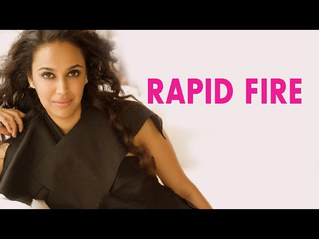EXCLUSIVE | Rapid fire with Swara Bhaskar