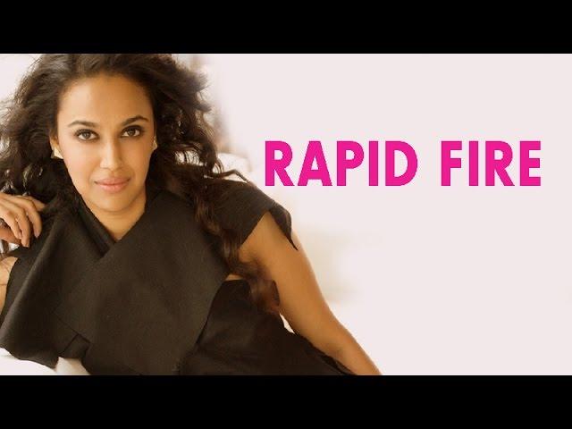 EXCLUSIVE | Rapid fire with Swara Bhaskar
