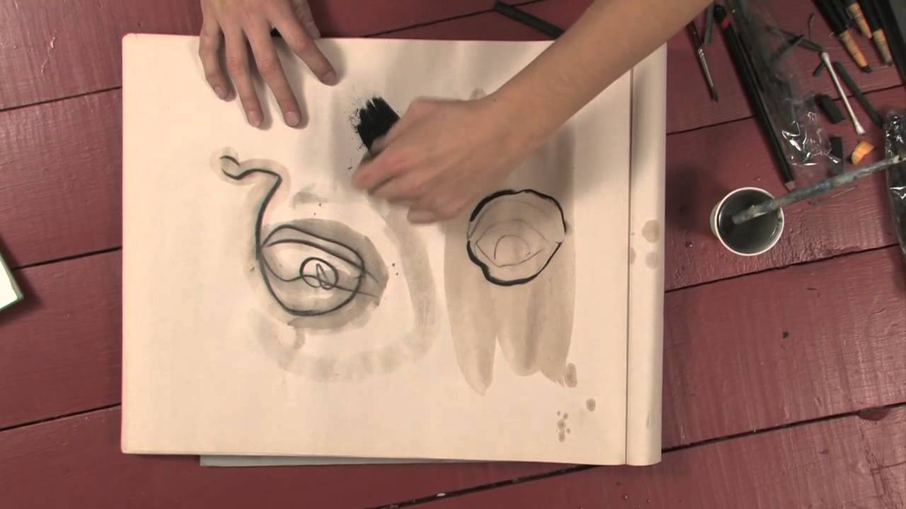 How To Get Charcoal Out Of Paint Brush