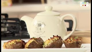 Baked Potato Skins with Masala Oats | Snack Time | Chef Ajay Chopra | FoodFood