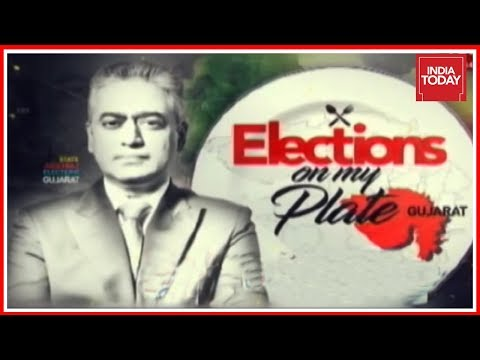 Elections On My Plate With Rajdeep Sardesai : The Ahmedabad Edition | Gujarat Polls