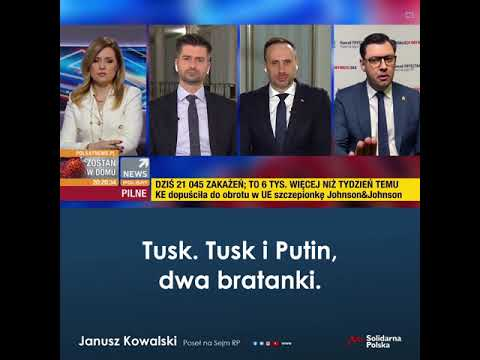 Tusk i Putin - dwa bratanki.