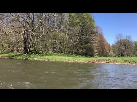Drifting down the West Branch of the Delaware River May 1, 2021