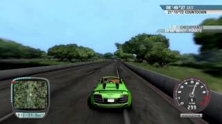 Test Drive Unlimited - The Big Challenge w/ Audi R8 Spyder