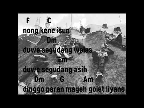 ( NGELABUR LANGIT By Vita Alvia ) Lirik Lagu & Cord GiTAR