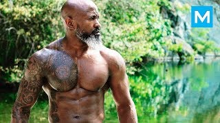 Most RIPPED Grandpa - Titus Unlimited   Muscle Madness