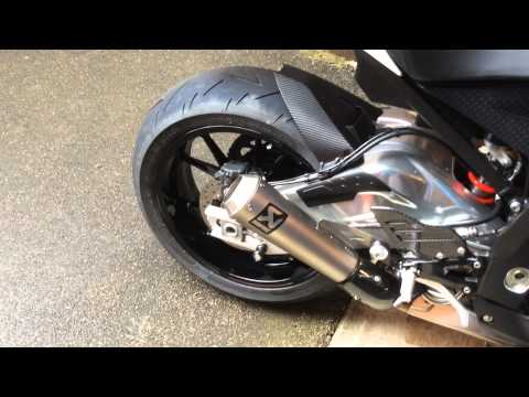 bmw s1000rr akrapovic gp exhaust slip on sound with valve. Black Bedroom Furniture Sets. Home Design Ideas