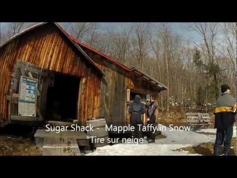 Le Massif de Charlevoix Mont Sainte Anne  and Quebec City March 2012 GoPro HD