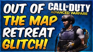 COD Advanced Warfare On Top of & Out of the Map Retreat Glitch! (AW Glitches & Spots)