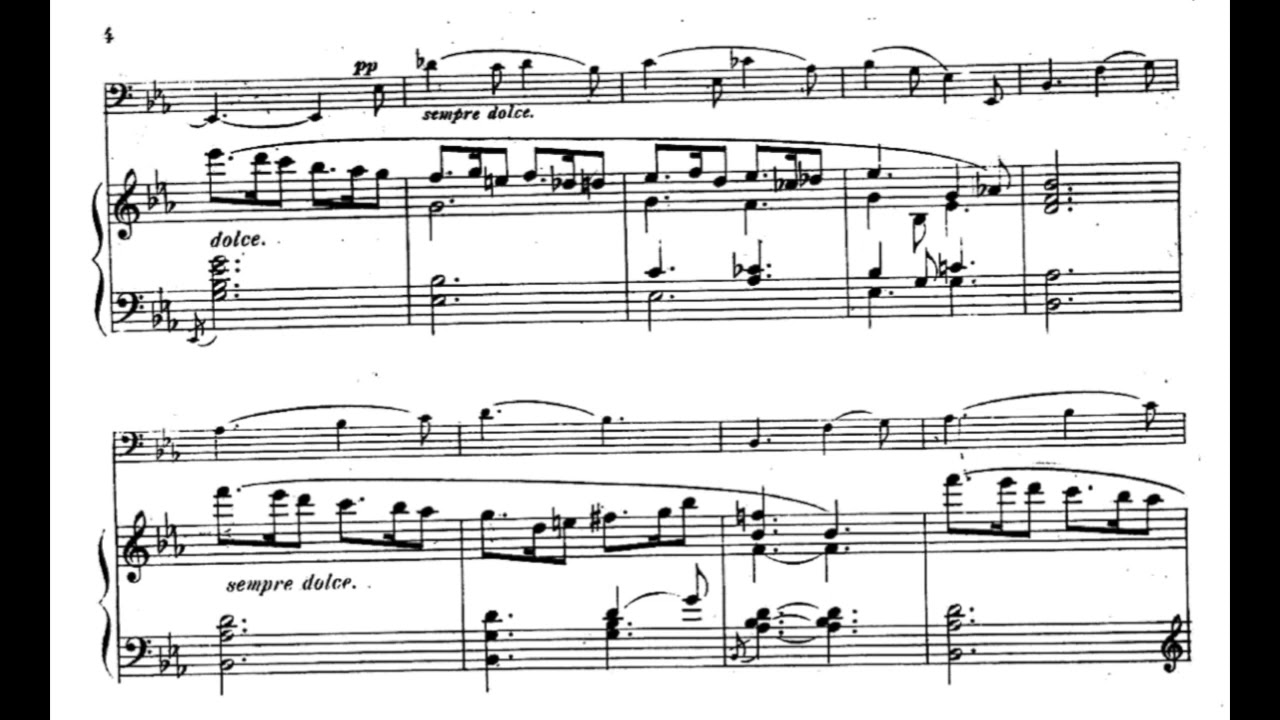 Download Fauré - Sicilienne (piano accompaniment)