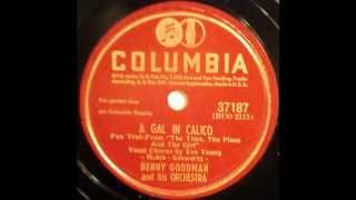 Benny Goodman   A Gal In Calico