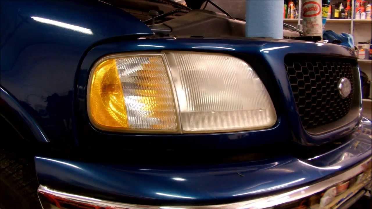 how to fix headlight oxidation
