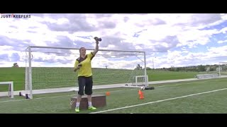 Professional Goalkeeper Training: Specific Quickness And Agility Training