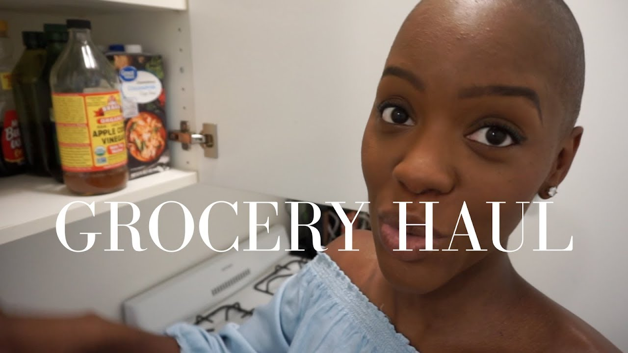 Grocery Haul For One   $50 Monthly Budget   Stacey Flowers  Stacey Flowers  16:36 HD