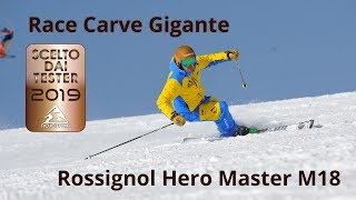 Rossignol Hero Master M18 - NeveItalia Ski-Test 2018/2019
