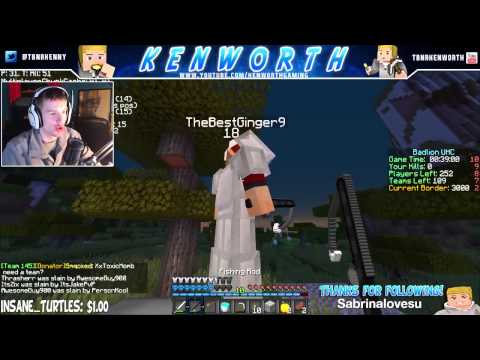 "MINECRAFT UHC BADLION TEAMS OF 4 WIN ""WHEN LIFE GIVES YOU LEMONS.."" w/TBNRkenWorth"