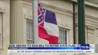 Gov. Reeves To Sign Bill To Remove Current Mississippi State Flag