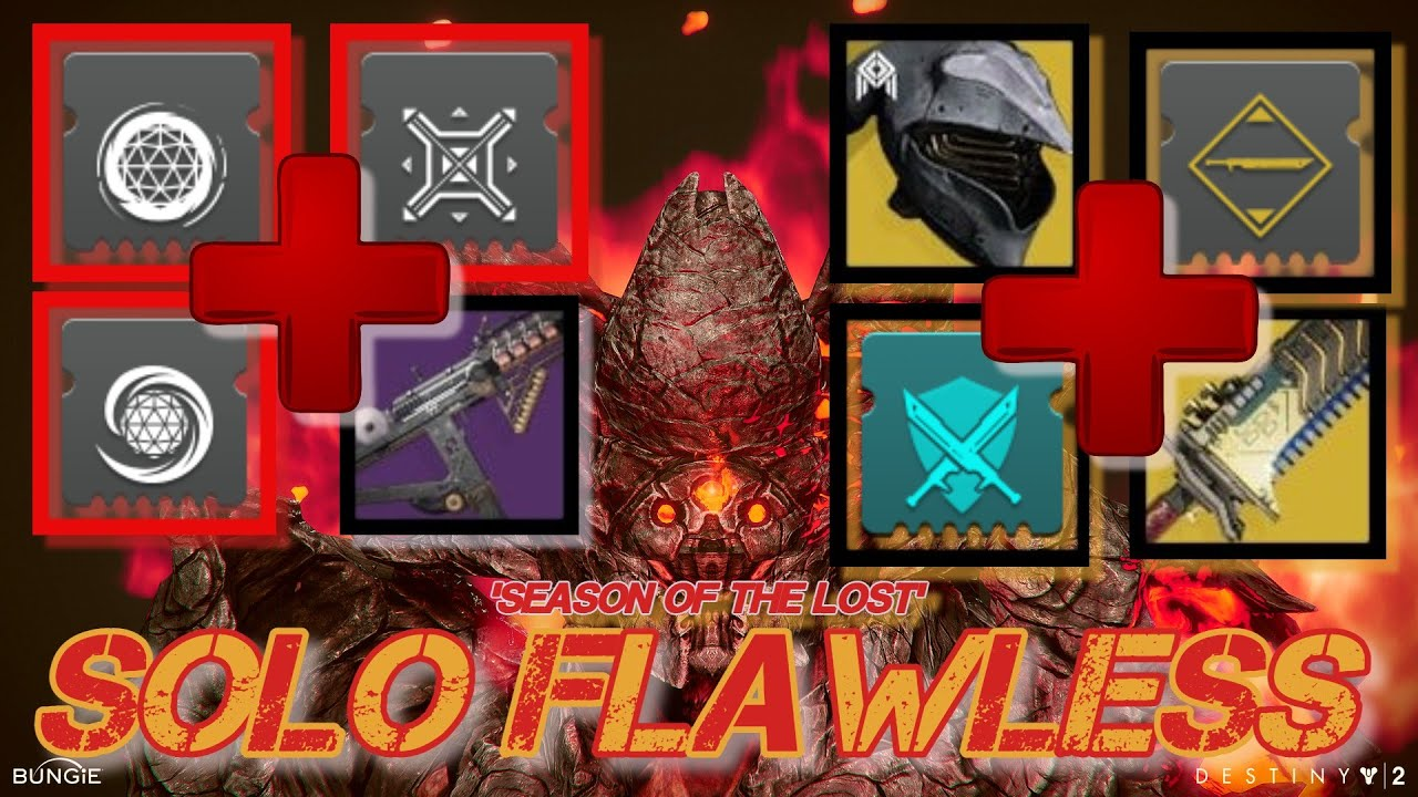 EASILY Solo Flawless Pit Of Heresy Dungeon - Season Of The Lost - Warlock (Destiny 2)