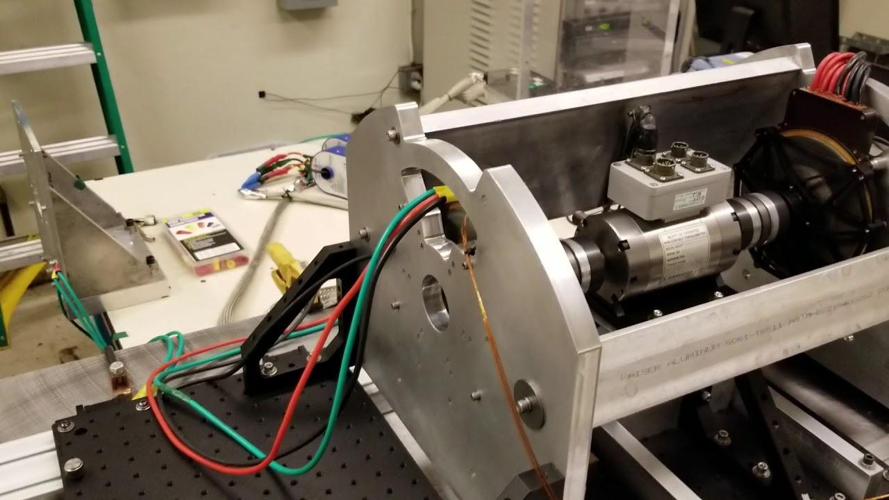 Lp dual halbach array motor and controller dynamometer for Halbach array motor generator
