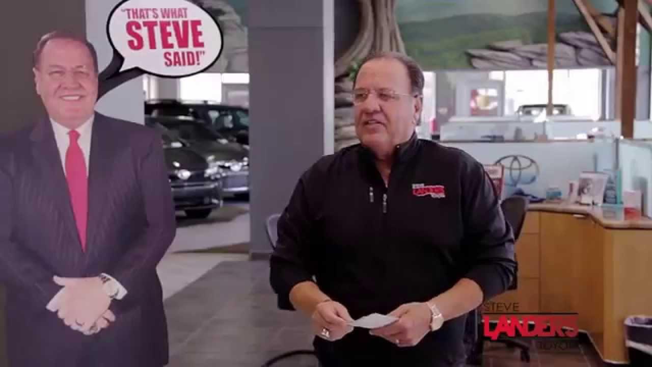 Landers Toyota Little Rock >> That's What Steve Said | Steve Landers Toyota in Little Rock, Arkansas - YouTube