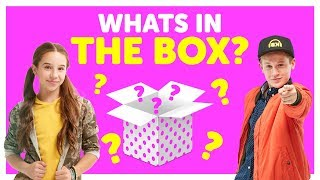What's In The Box with Liv & Cooper from The KIDZ BOP Kids