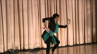 Fusion Dance to Rabindra Sangeet - sung by Shounok Chattopadhyay