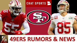 49ers News On George Kittle Contract Extension + 49ers Trade Rumors On Dee Ford & Solomon Thomas