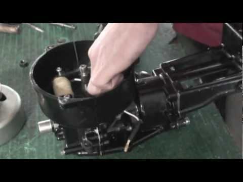 как разобрать лодочного мотора 5 л.с