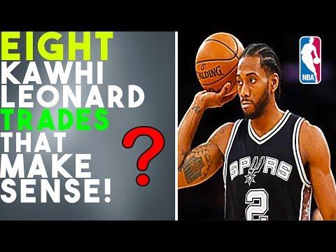 8 Kawhi Leonard Trades That Make Sense