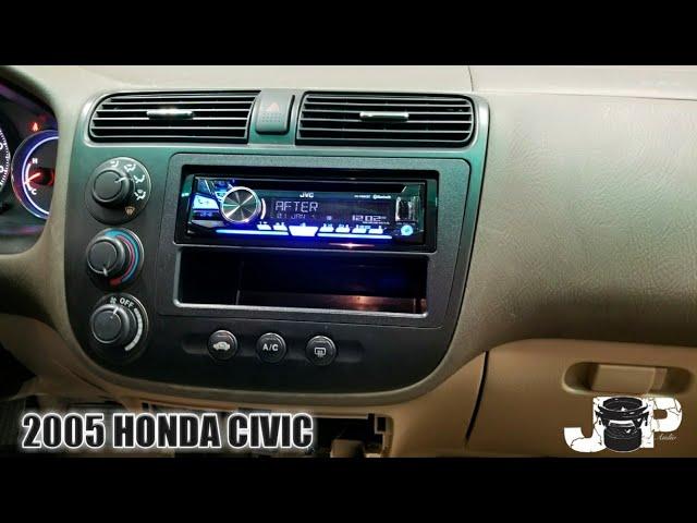 2005 Honda civic radio removal - YouTube | 2005 Honda Civic Stereo Wiring |  | YouTube