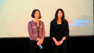 Let it go -- an experiment in forgiveness | Leslie Blodgett & Colaine Roepke | TEDxBayArea